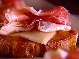Apricot and Chicken Bruschetta: Tasti Recipe, Giada De Laurentiis, Chicken Bruschetta, Appetizersparti Food, Bruschetta Recipe, Giada Foodierecip, Roasted Chicken, Party Idea, Test Recipe