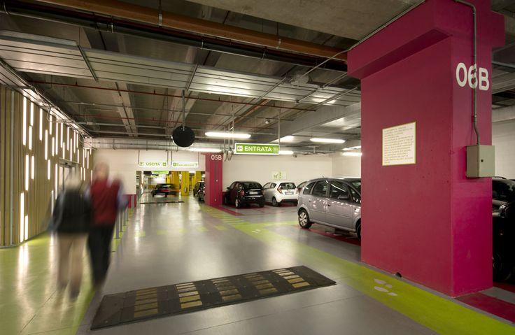 https://flic.kr/p/o9WNDq | Centro Sarca - restyling parcheggi e lobby di ingresso