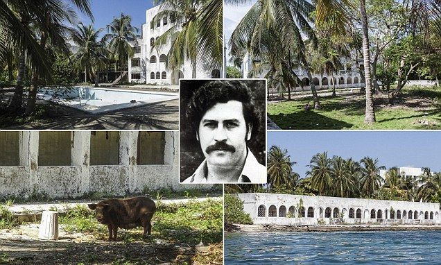 Eerie pictures reveal lavish lifestyle of drug kingpin Pablo Escobar