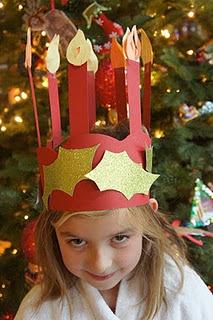 Christmas Around the World  Santa Lucia Crown