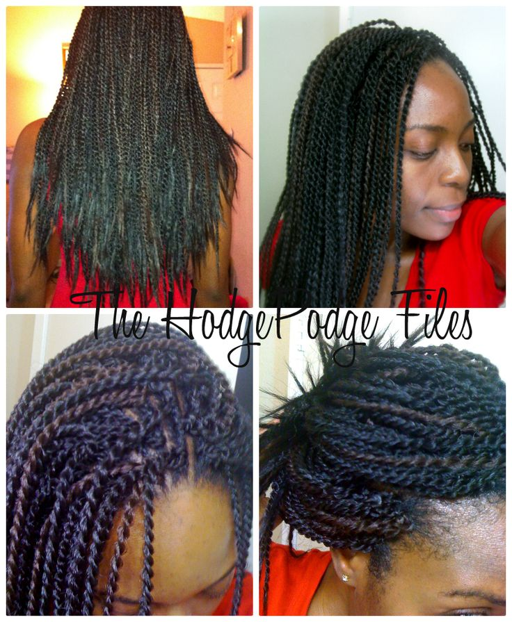 Pre Twisted Crochet Hair Styles : braids hairstyles hairdos pre twisted hair micro braids braids twist ...
