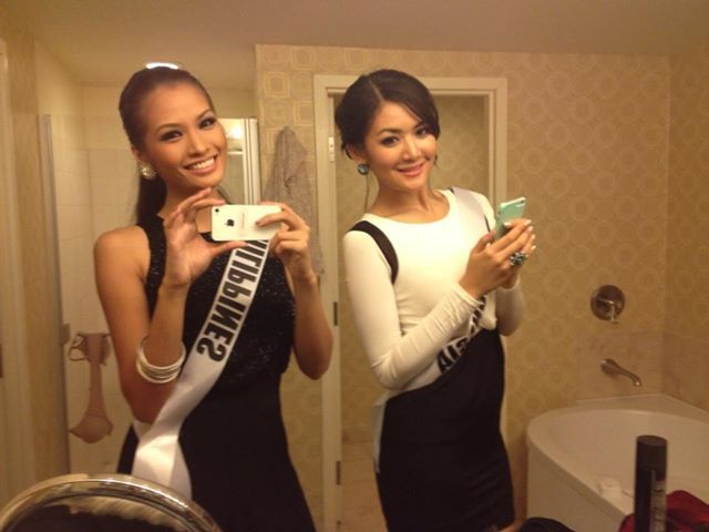 Miss Inonesia 2011 and Mis Philippines 2011 style