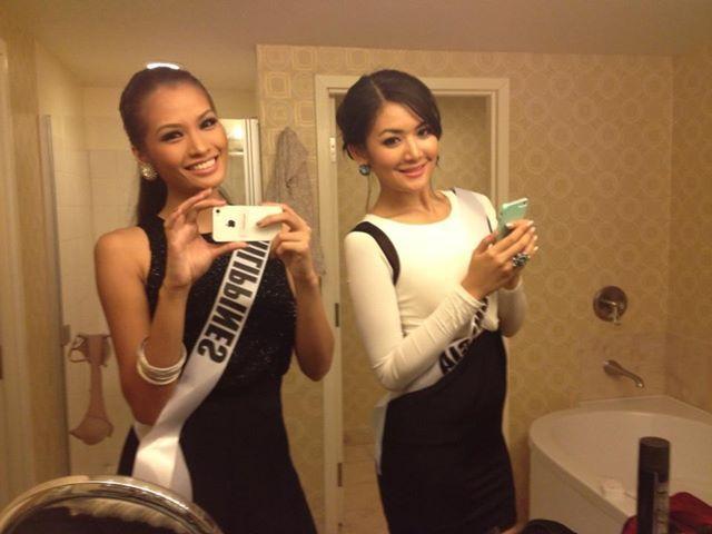 Miss Inonesia 2011 and Mis Philippines 2011 style