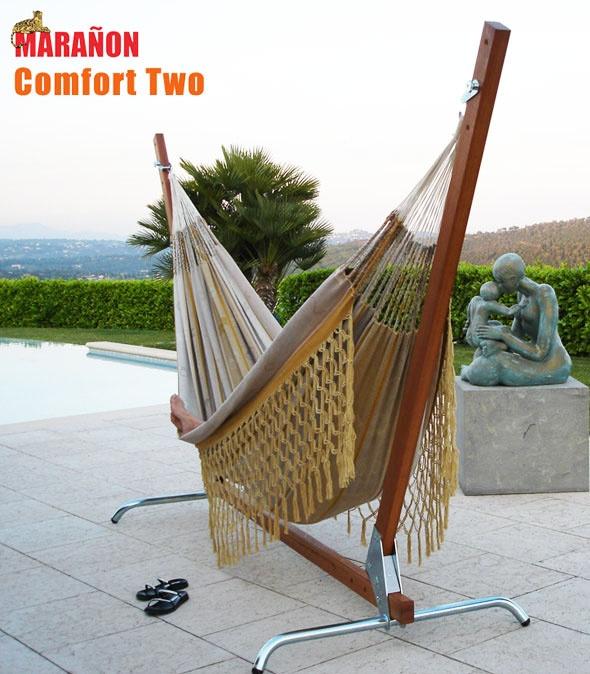 COMFORT hangmat standaard designed door Peter van de Water.
