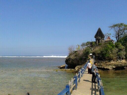 Beuty place. Balekambang in south malang
