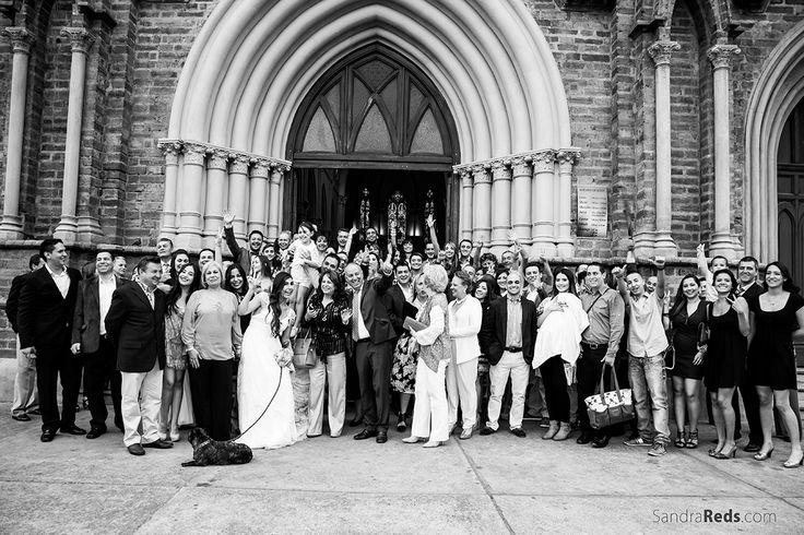 fotografía de boda - wedding photograohy Me encantan las fotos de grupos grandes, vale la pena el reto.