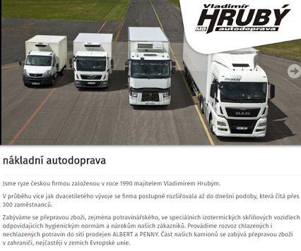 Autodoprava Hrubý Vladimír – Sbírky – Google+