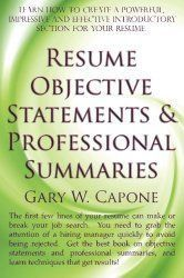 To help you write a good objective statement, we listed 50 objective statements taken from a random selection of manager and executive resumes.  Some are very descriptive and others are extremely vague and generic.