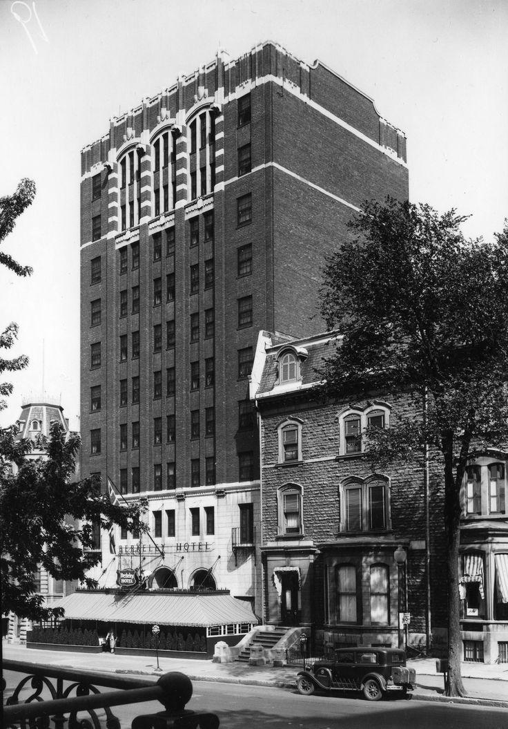 Hôtel Berkeley (1188, rue Sherbrooke Ouest, entre les rues Drummond et Stanley)