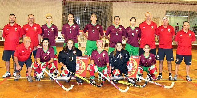 Portugal é vice-campeão mundial feminino de hóquei em patins