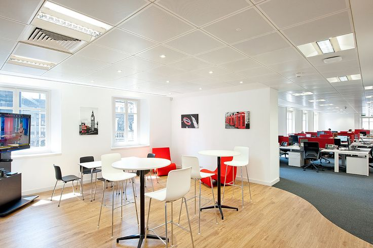 Break Out Area 0 10 000 Sq Ft 6 Weeks London EC2R An Office Design And