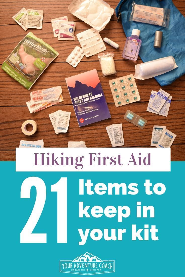 Free First Help Equipment Guidelines For Hikers