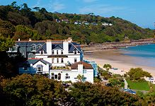 Carbis Bay Hotel, St Ives, Cornwall. Has its own beach!