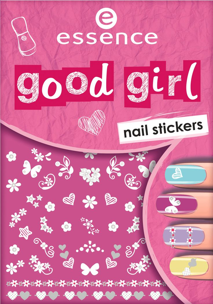 Nagelsticker good girl nail stickers 03