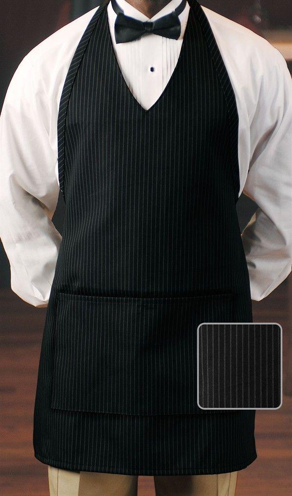 Women S Black Pinstripe Sexy V Neck Tuxedo Chief Chef