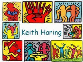 Leuke en informatieve powerpoint over Keith Haring voor 5, deze en nog vele andere kun je downloaden op de website van Juf Milou.