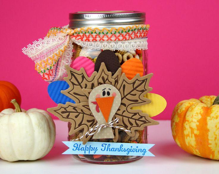 "Thanksgiving ""Gobble Gobble"" Chex Mix - Recipe and Gift Ideas! www.fiskars.com - @Tatyana Yakusha Petkova Willis"
