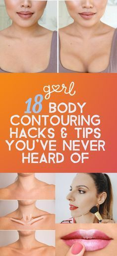 """By now, everyone is familiar with face makeup contouring, which is basically using concealer, bronzer, and highlighter to sculpt your face and give the appearance of higher cheekbones and killer jawlines. Once relegated to red carpets and celebrities, contouring is now done by even us """"normal people,"""" and there are tons of different tutorials out there for all different kinds of skill levels."""