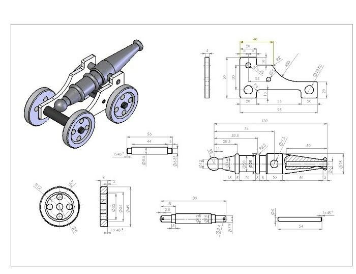 Best 295 mechanical drawings blueprints cad drawings for Cad blueprints