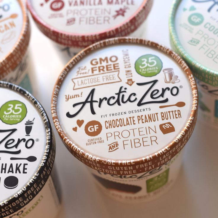 Protein & Fiber! ARCTIC ZERO ice cream alternative's whey protein is lactose- and hormone-free! For added fiber they use chicory root, known for its prebiotic and blood-sugar-stabilizing properties, and sugarcane fiber that helps to aid in digestion! | ARCTIC ZERO