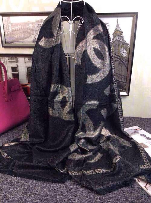 Chanel scarf.