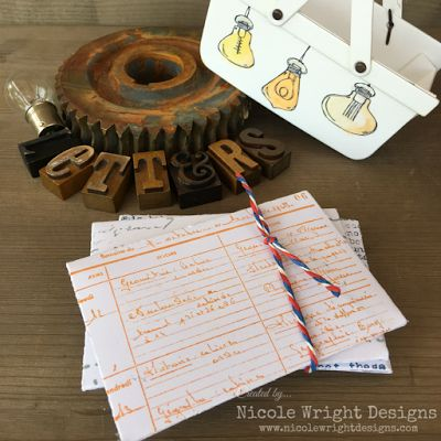 Nicole Wright Designs: Letter Collection