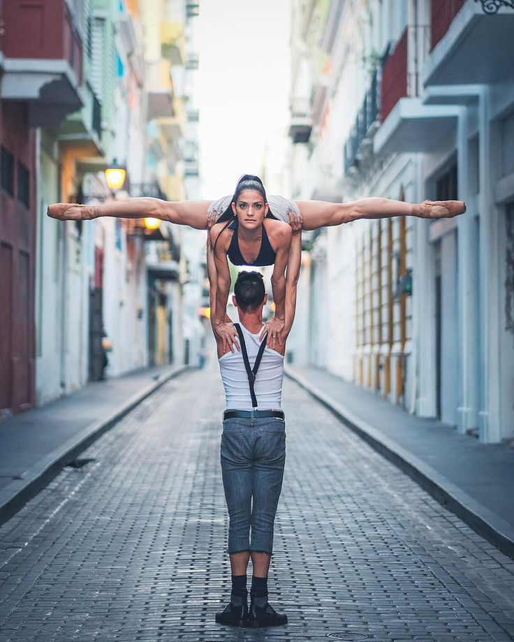 Ballerinas in City Backdrops | POPSUGAR Fitness