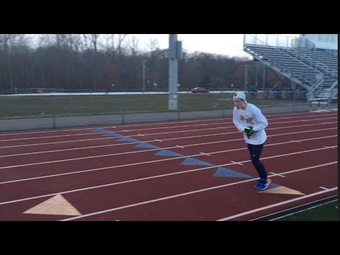 Georgetown Runner makes youtube series about training and racing in college called 'The Athlete Special'. In the latest episode he does a 800-200 workout. The quality is as good as flotrack. take a look