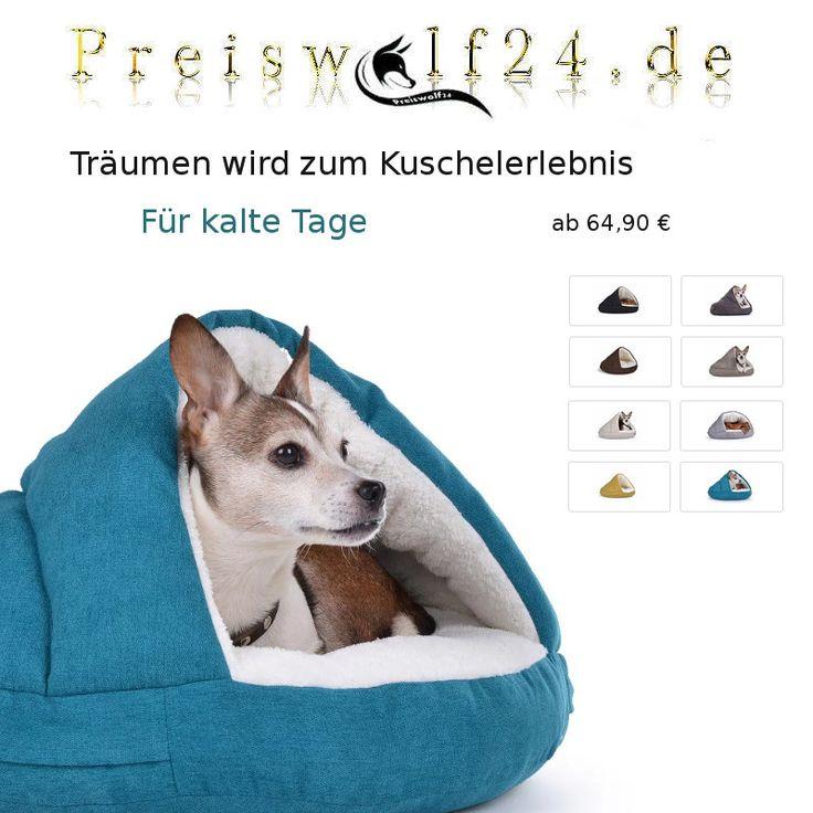 Eine wunderschöne Hundehöhle kuschelig weich einfach zum wohlfühlen , ein Hundebett für Hunde die Schutz brauchen wenn die Tage kalt sind Fashion Trend Style, Shopping bei Preiswolf24.de