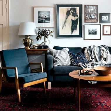 Die besten 25+ Roter sofa dekor Ideen auf Pinterest Rotes sofa - wohnzimmer ideen rote couch
