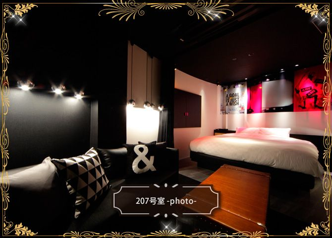 """Room information   Love hotel in Sendai """"H GALLERY HOTEL"""" Direct in & time sharing system"""