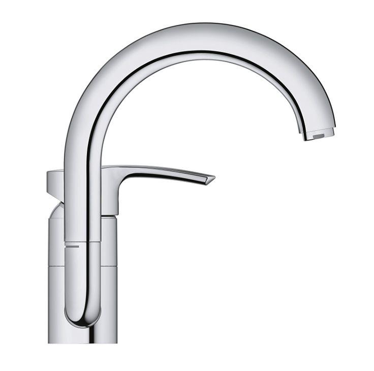 GROHE Eurostyle 32444001 Смеситель для раковины      http://www.santehmag.ru/category/smesiteli-grohe-eurostyle/  GROHE Eurostyle - Коллекция смесителей для ванной комнаты