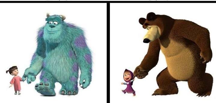 Маша и Медведь. By: #LPY