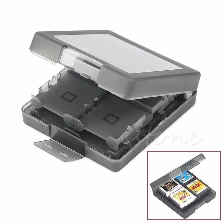 Descriptions: 	16 in 1 Game Card Case Holder Box Storage Cartridge For Nintendo 3DS/DS/DSI 	Features: 	   	Fit for nintendo 3DS/DS/DSI game cards.  	Each box can stores 16 game cards.  	Keep your Game cassettes organized.  	Protects the game card from dust, dirt, and other...
