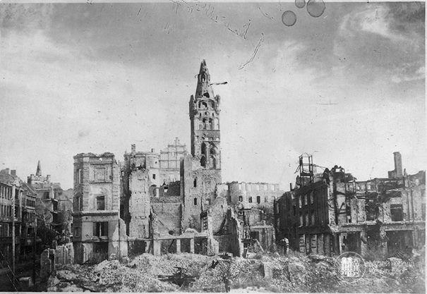 Кёнигсберг. Королевский замок. Фото ок. 1948 года.