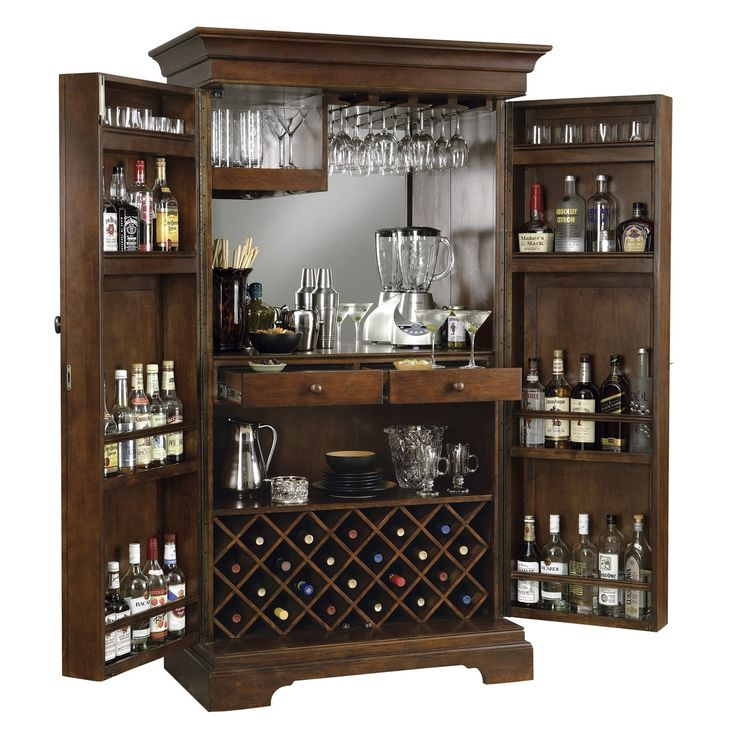 Shop Howard Miller  695064 Sonoma Hide-A-Bar Wine Cabinet at ATG Stores. Browse our home bars, all with free shipping and best price guaranteed.