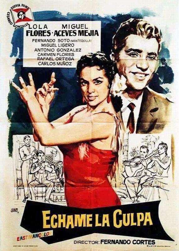 échame La Culpa 1959 Tt0052435 Movie Posters Poster Movies
