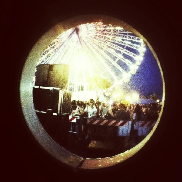 #molostreetparade e guardo il MOLO da un obló by @igersRimini