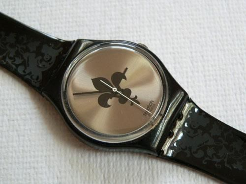 SWATCH WATCH LUCRETIA * fav swatch that i've ever owned. Stolen from my locker - i WILL own it again :)