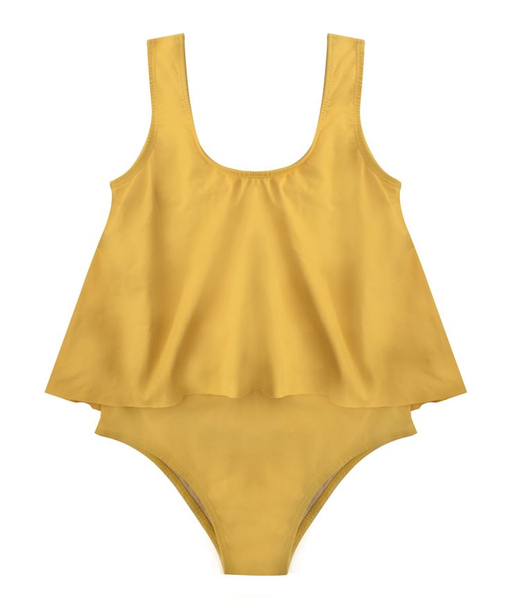 SOLINE one piece   YELLOW