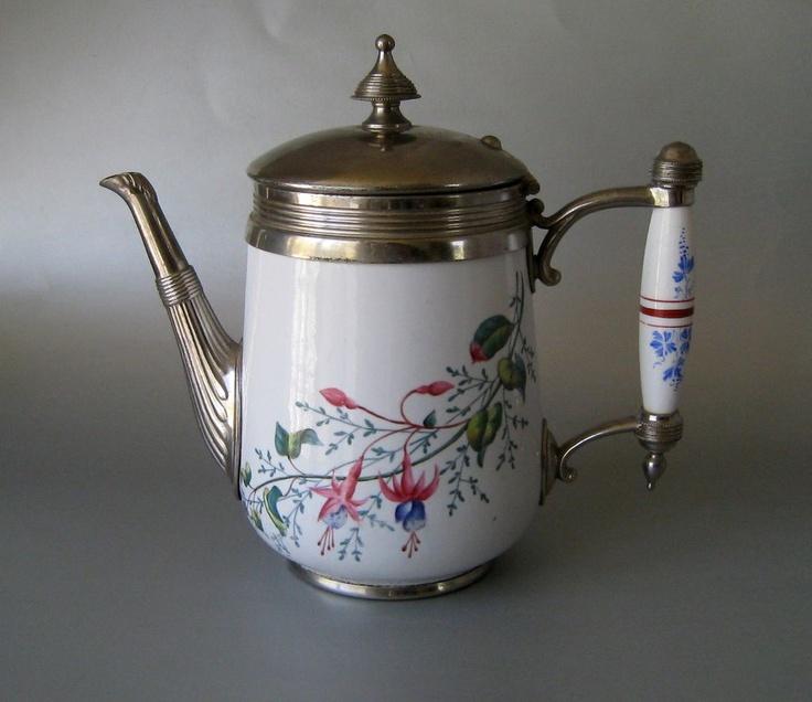 Vintage graniteware coffe pot