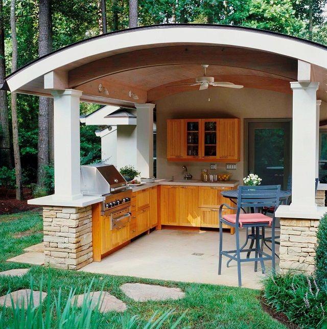 Lowes Outdoor Kitchen Outdoor Kitchen Designs Outdoor: 1000+ Ideas About Covered Outdoor Kitchens On Pinterest