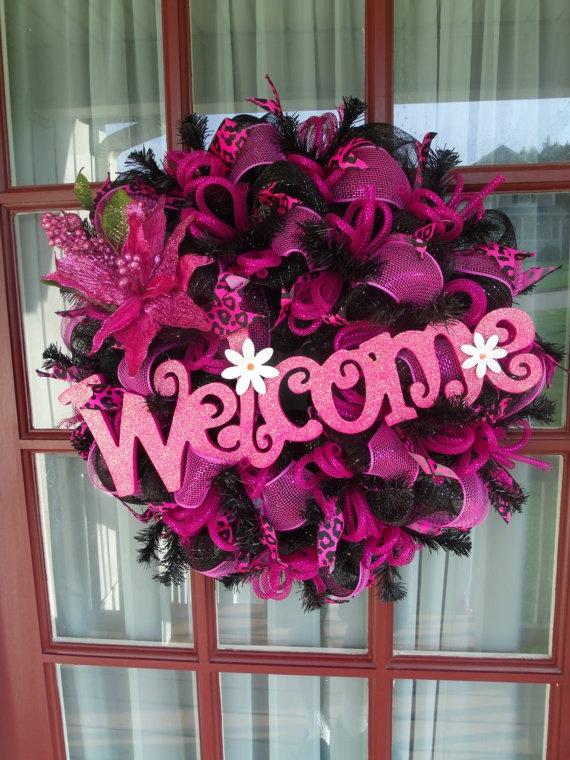 How To Make Christmas Door Wreaths