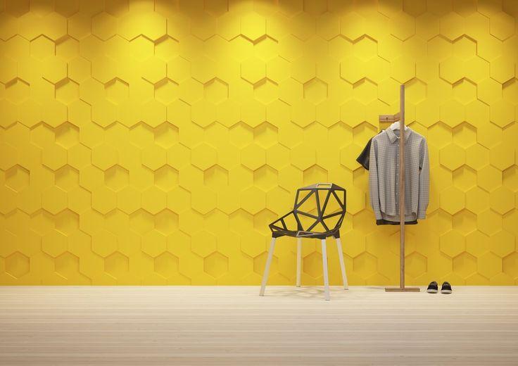 Panele dekoracyjne - Dunes Honey