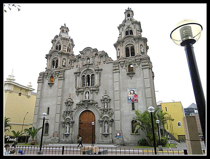 Iglesia del Rosario - Miraflores - Lima