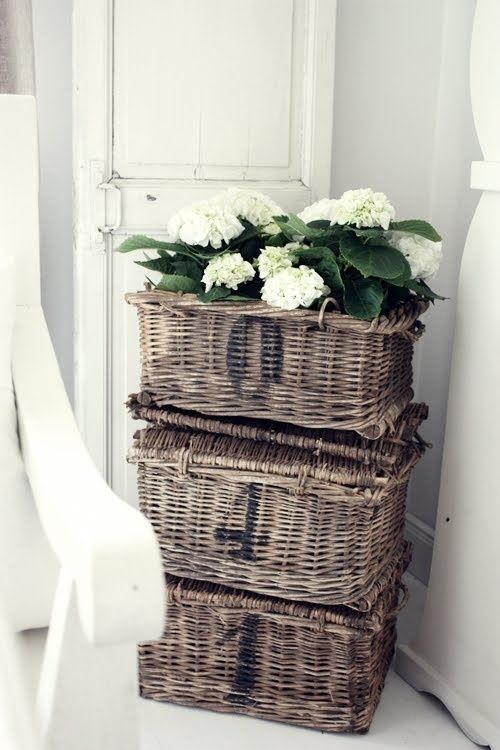 ~ note to self: stencil a couple of numbers on my French basket