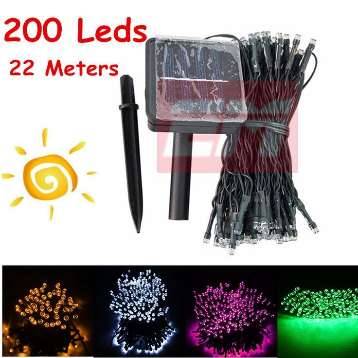 $14.98 (Buy here: https://alitems.com/g/1e8d114494ebda23ff8b16525dc3e8/?i=5&ulp=https%3A%2F%2Fwww.aliexpress.com%2Fitem%2FSolar-Lamps-Power-200-LED-String-Garlands-Lights-Solar-Garden-Christmas-Lights-Holiday-Outdoor-Fairy-Light%2F32716400856.html ) Solar Lamps Power 200 LED String Garlands Lights Solar Garden Christmas Lights Holiday Outdoor Fairy Light Waterproof Decoration for just $14.98