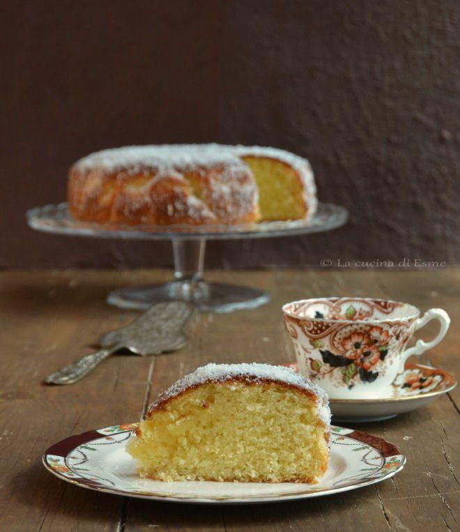 Torta al cocco - coconut cake