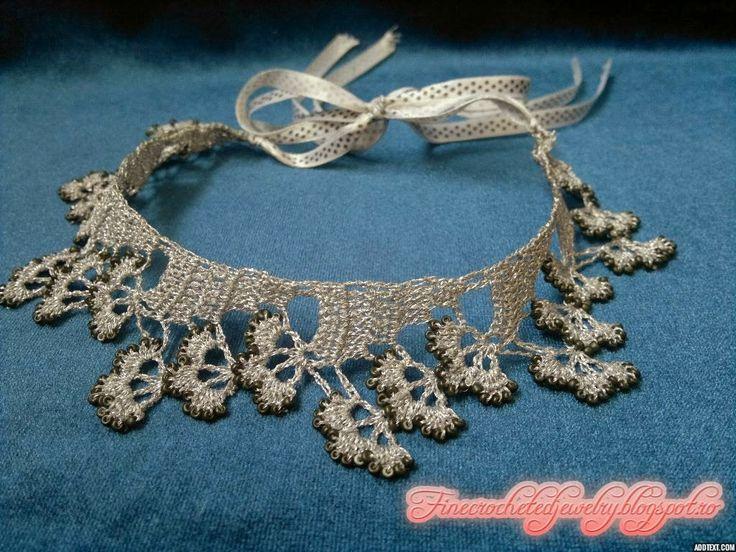 Fine Crocheted Jewelry: Martie 2014