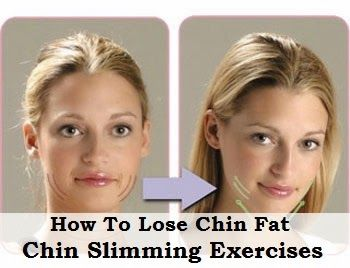 how to lose neck chin fat